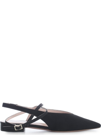 Anna Baiguera Sandals W/crossed Belt On Ankle