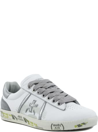 Premiata Andy Sneaker In White Leather