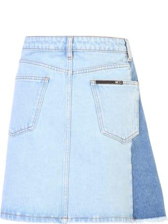 McQ Alexander McQueen Pleated Skirt