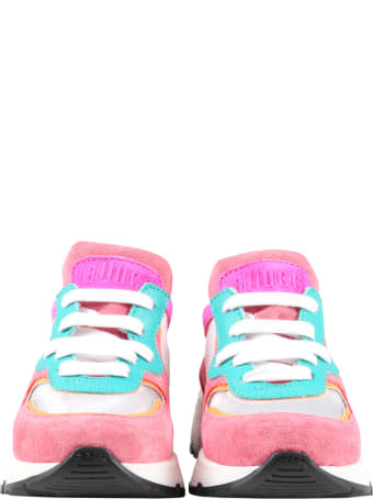 Gallucci Multicolor Sneakers For Girl With Logo