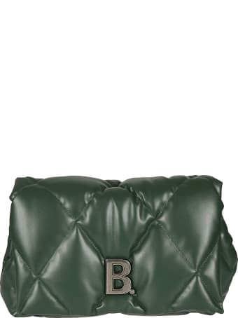 Balenciaga Touch Puffy Quilted Clutch