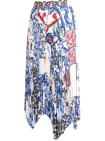 Tory Burch 'sunburst' Polyester Skirt