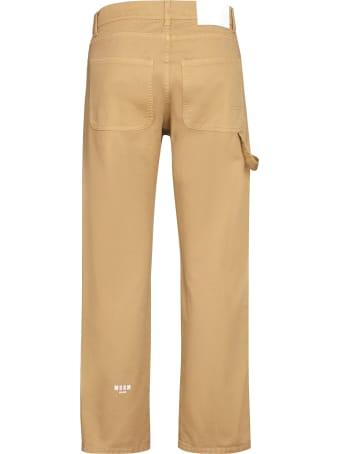MSGM 5-pocket Straight-leg Jeans