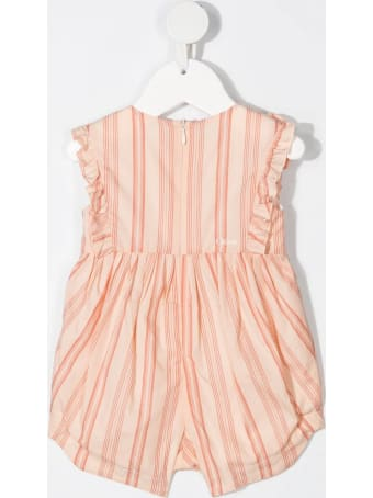 Chloé Striped Sleeveless Jumpsuit
