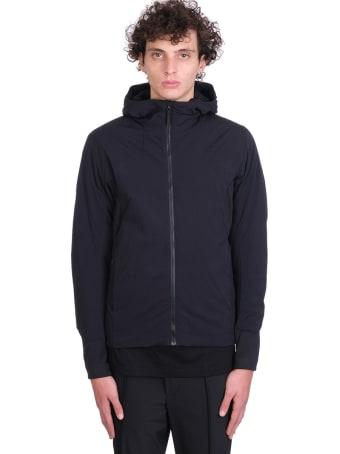 Arc'teryx Veilance Mionn Si Coat Puffer In Black Nylon