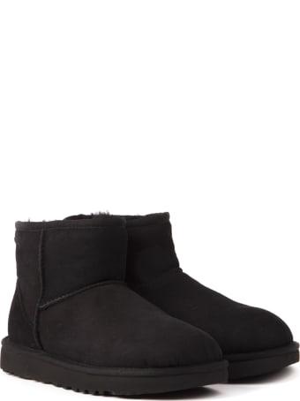 UGG Mini Classic Boots In Reversed Sheepskin
