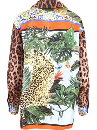 Dolce & Gabbana Oversize Silk Shirt