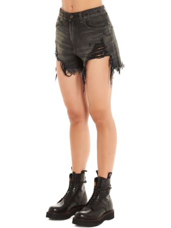 R13 'shedded Slouch' Shorts