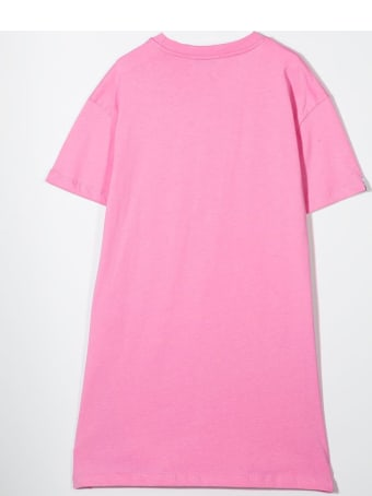 MSGM Dress Model T-shirt With Print