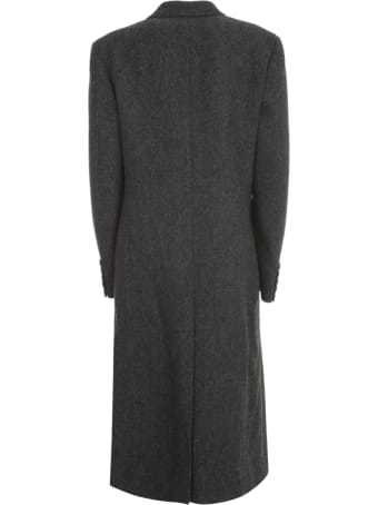 Junya Watanabe Comme Des Garçons Wool Cashmere Double Breasted Coat