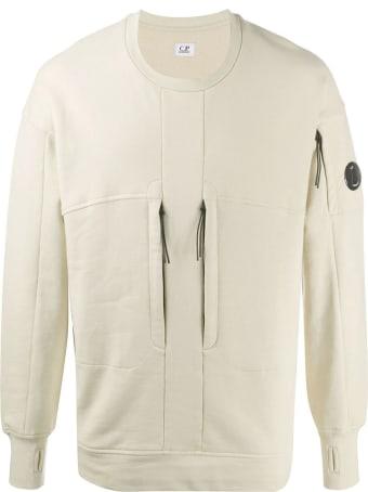 C.P. Company Beige Cotton Sweatshirt