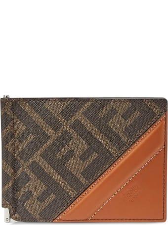 Fendi Slim Wallet Mon Tess.pu Ff 197