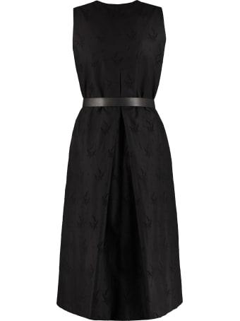 Max Mara Studio Axelle Georgette Dress