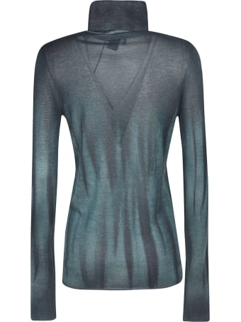 Avant Toi High-neck Printed Sweater