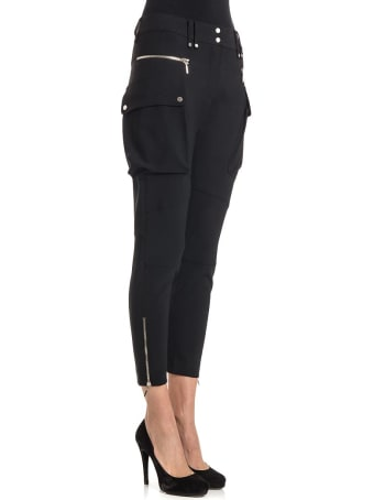 Plein Sud Viscose And Virgin Wool Trousers