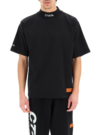 HERON PRESTON Ctnmb Embroidery T-shirt