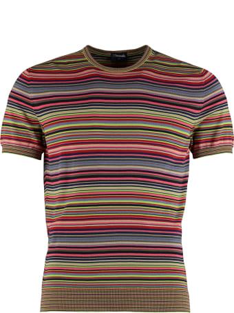 Drumohr Striped Knitted T-shirt