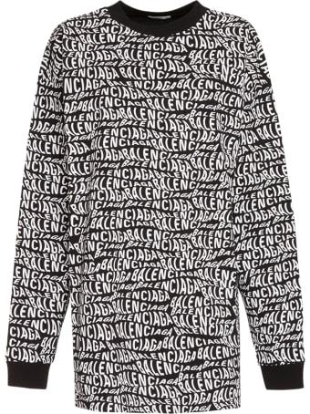 Balenciaga Crewneck Logo Sweatshirt