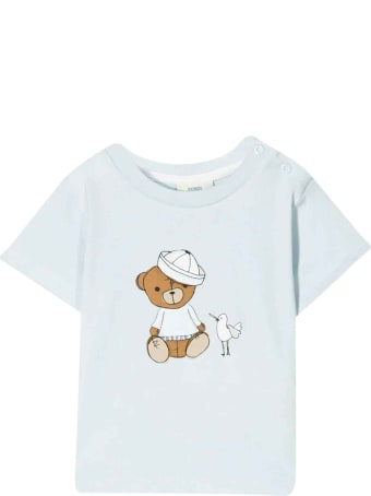 Fendi Baby Blue T-shirt