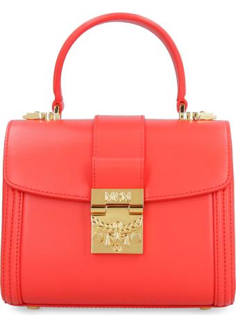 MCM Tracy Leather Handbag