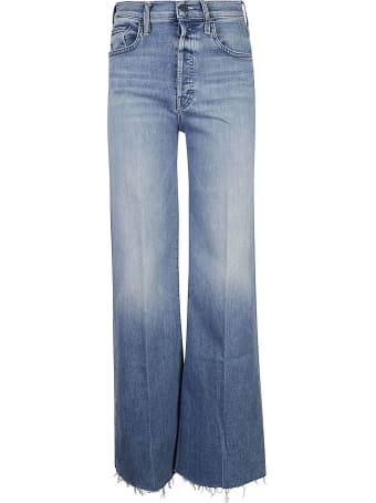 Mother Straight Long Jeans