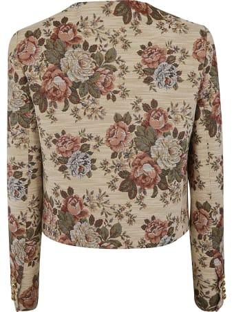 Celine Floral Print Jacket