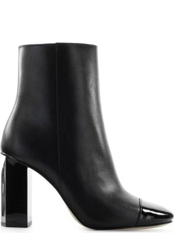Michael Kors Petra Black Ankle Boot