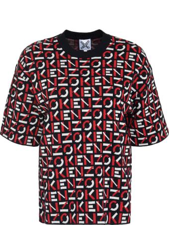 Kenzo Jacquard Knit Top