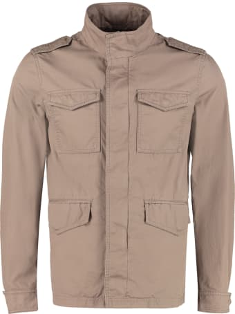 Herno Multi-pocket Cotton Jacket