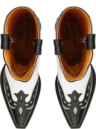Jessie Western Butterfly Cowboy Boots