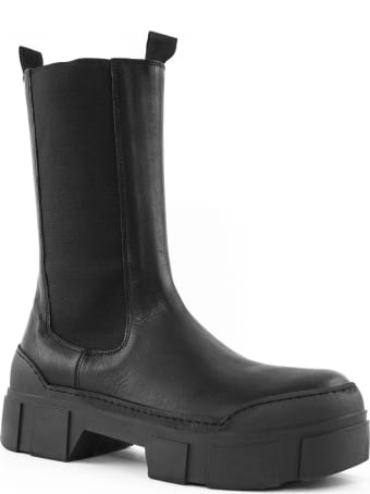 Vic Matié Black Leather Boots