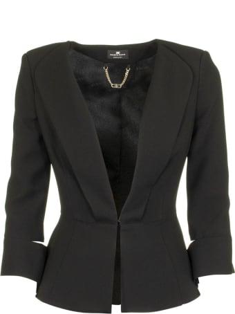 Elisabetta Franchi Celyn B. Jacket With Slits On The Sleeves