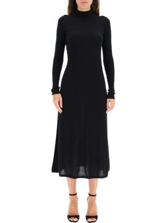 Le Kasha Knit Dress With Cut-out