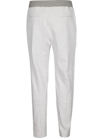Brunello Cucinelli Stripe Sided Track Pants