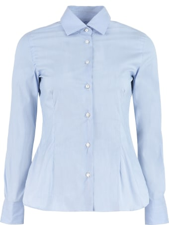 Barba Napoli Stretch Cotton Shirt