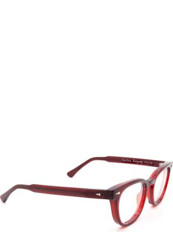 AHLEM Rue Duroc Burgundy Eyewear