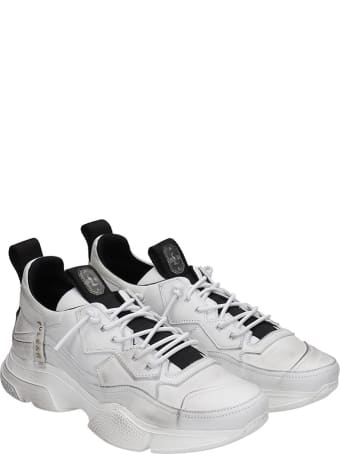 Bruno Bordese Sneakers In White Leather