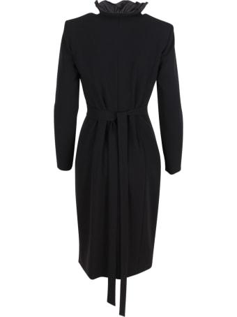 Max Mara 'suez' Triacetate Dress