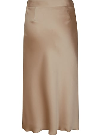 Blumarine Side-zip Plain Skirt