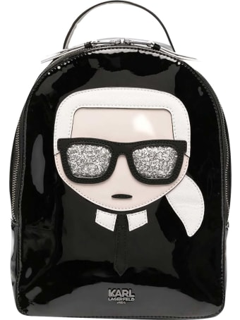 Karl Lagerfeld Kids Ikonik Karl Backpack