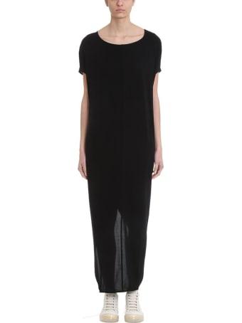 Rick Owens Lilies Gown Black Jersey Dress