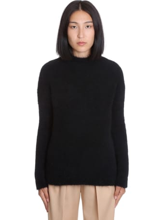 Jil Sander Knitwear In Black Wool