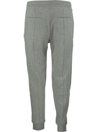Brunello Cucinelli Techno Cotton Interlock Trousers With Crête Detail And Elasticated Cuffs