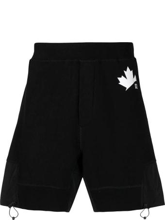 Dsquared2 Shorts Neri Uomo
