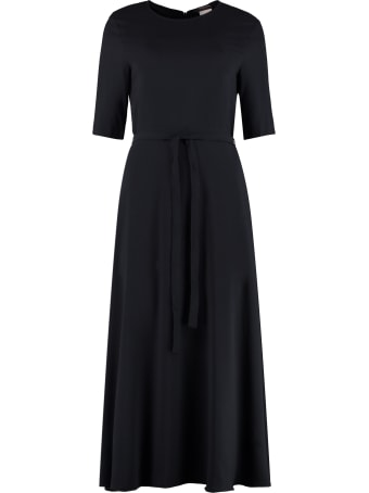 'S Max Mara Bracco Crepe Dress
