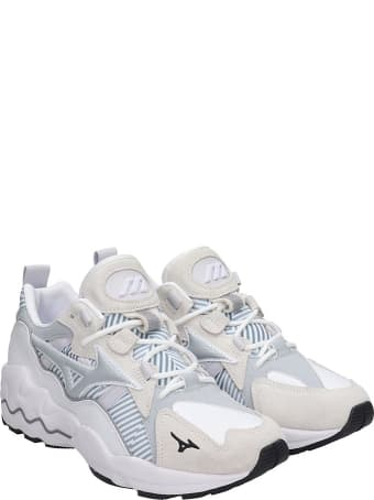 Mizuno 1906 Wave Rider 1 Sneakers In White Tech/synthetic