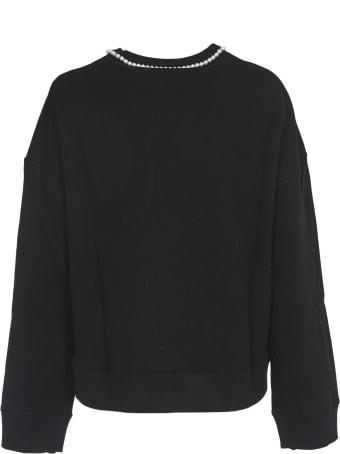 Vivetta Crewneck Sweatshirt With Pearl