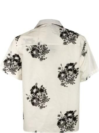 N.21 Floral Print Short Sleeved Shirt
