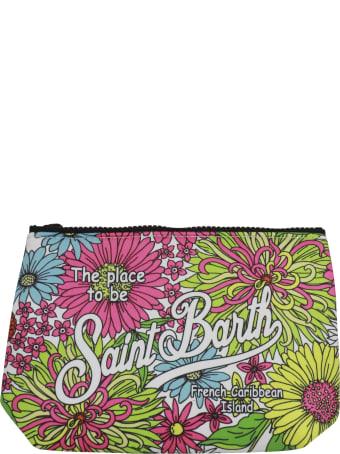 MC2 Saint Barth Aline Flower Pwr01 Pocket Square