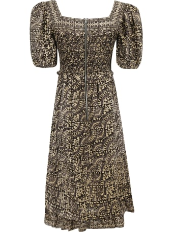 Sea Printed Dress